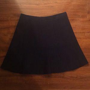 Navy Blue Jcrew mini skirt